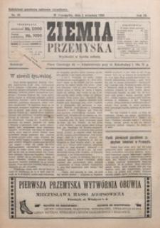 Ziemia Przemyska. 1923, R. 9, nr 18-22 (wrzesień)