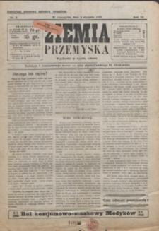 Ziemia Przemyska. 1925, R. 11, nr 1-5 (styczeń)