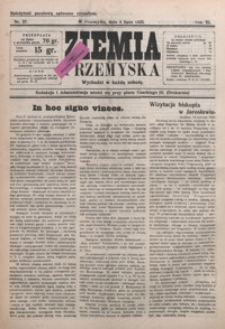 Ziemia Przemyska. 1925, R. 11, nr 27-30 (lipiec)