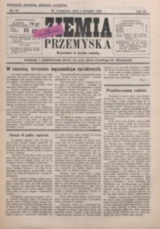 Ziemia Przemyska. 1925, R. 11, nr 31-35 (sierpień)