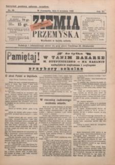 Ziemia Przemyska. 1925, R. 11, nr 36-39 (wrzesień)