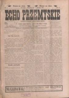 Echo Przemyskie : organ Stronnictwa Katolicko-Narodowego. 1897, R. 2, nr 1-9 (styczeń)