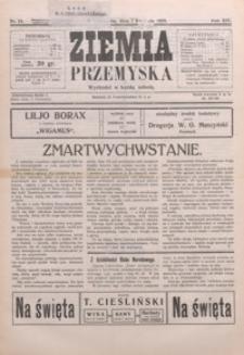 Ziemia Przemyska. 1928, R. 14, nr 15-18 (kwiecień)