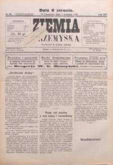 Ziemia Przemyska. 1928, R. 14, nr 38-42 (wrzesień)