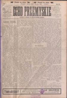 Echo Przemyskie : organ Stronnictwa Katolicko-Narodowego. 1898, R. 3, nr 1-9 (styczeń)
