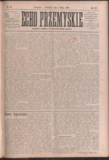 Echo Przemyskie : organ Stronnictwa Katolicko-Narodowego. 1898, R. 3, nr 35-43 (maj)