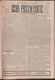 Echo Przemyskie : organ Stronnictwa Katolicko-Narodowego. 1898, R. 3, nr 79-87 (październik)
