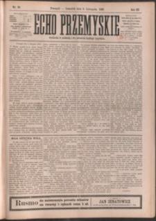 Echo Przemyskie : organ Stronnictwa Katolicko-Narodowego. 1898, R. 3, nr 88-95 (listopad)