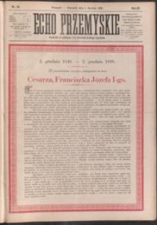 Echo Przemyskie : organ Stronnictwa Katolicko-Narodowego. 1898, R. 3, nr 96-104 (grudzień)