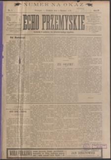 Echo Przemyskie : organ Stronnictwa Katolicko-Narodowego. 1899, R. 4, nr 1-9 (styczeń)