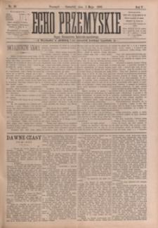 Echo Przemyskie : organ Stronnictwa Katolicko-Narodowego. 1900, R. 5, nr 36-44 (maj)