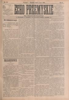 Echo Przemyskie : organ Stronnictwa Katolicko-Narodowego. 1900, R. 5, nr 53-61 (lipiec)