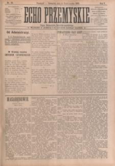 Echo Przemyskie : organ Stronnictwa Katolicko-Narodowego. 1900, R. 5, nr 80-87 (październik)