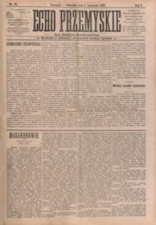 Echo Przemyskie : organ Stronnictwa Katolicko-Narodowego. 1900, R. 5, nr 88-96 (listopad)
