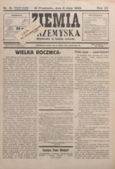 Ziemia Przemyska. 1929, R. 15, nr 18-21 (maj)