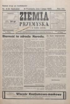 Ziemia Przemyska. 1930, R. 16, nr 9-14 (luty)