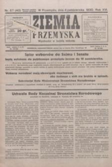 Ziemia Przemyska. 1930, R. 16, nr 57-60 (październik)