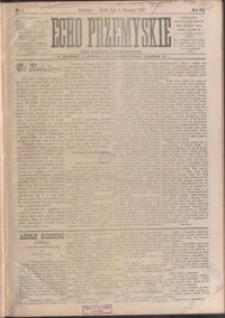 Echo Przemyskie : organ Stronnictwa Katolicko-Narodowego. 1902, R. 7, nr 1-9 (styczeń)