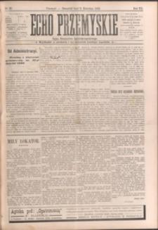 Echo Przemyskie : organ Stronnictwa Katolicko-Narodowego. 1902, R. 7, nr 27-34 (kwiecień)