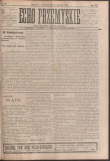 Echo Przemyskie : organ Stronnictwa Katolicko-Narodowego. 1902, R. 7, nr 62-70 (sierpień)