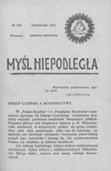 Myśl Niepodległa 1912 nr 220