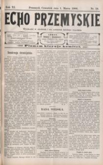 Echo Przemyskie : organ Stronnictwa Katolicko-Narodowego. 1906, R. 11, nr 18-26 (marzec)