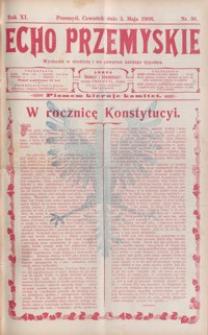Echo Przemyskie : organ Stronnictwa Katolicko-Narodowego. 1906, R. 11, nr 36-44 (maj)