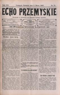 Echo Przemyskie : organ Stronnictwa Katolicko-Narodowego. 1907, R. 12, nr 18-26 (marzec)
