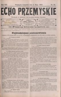Echo Przemyskie : organ Stronnictwa Katolicko-Narodowego. 1907, R. 12, nr 35-43 (maj)