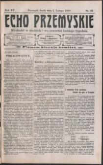 Echo Przemyskie : organ Stronnictwa Katolicko-Narodowego. 1910, R. 15, nr 10-17 (luty)