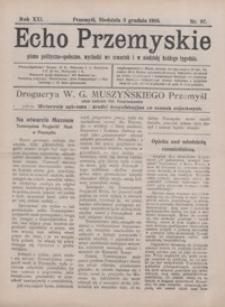 Echo Przemyskie : pismo polityczno-społeczne. 1916, R. 21, nr 97-105 (grudzień)