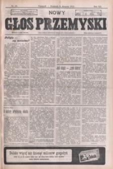 Nowy Głos Przemyski : pismo poświęcone sprawom społecznym, politycznym i ekonomicznym. 1913, R. 12, nr 31-35 (sierpień)