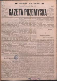 Gazeta Przemyska. 1887, R. 1, nr 1 (maj)
