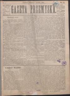 Gazeta Przemyska. 1889, R. 3, nr 1-4 (styczeń)
