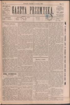 Gazeta Przemyska. 1890, R. 4, nr 71-78 (wrzesień)