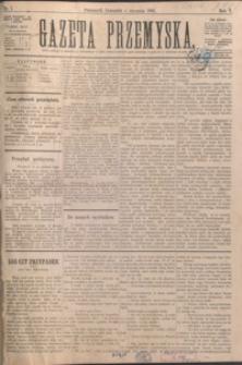 Gazeta Przemyska. 1892, R. 6, nr 1-9 (styczeń)