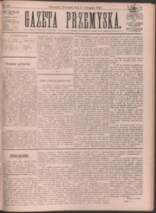 Gazeta Przemyska. 1892, R. 6, nr 88-95 (listopad)