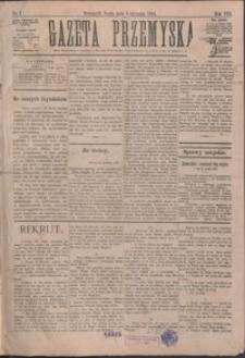 Gazeta Przemyska. 1894, R. 8, nr 1-2, 4-8 (styczeń)