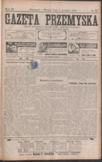 Gazeta Przemyska : organ Polskiego Towarzystwa Demokratycznego. 1909, R. 3, nr 97-104 (grudzień)