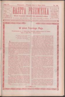 Gazeta Przemyska : organ Polskiego Towarzystwa Demokratycznego. 1910, R. 4, nr 36-44 (maj)