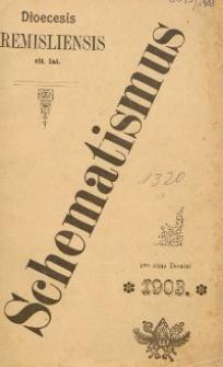 Schematismus universi venerabilis cleri Saecularis et Regularis Dioeceseos Ritus Latini Premisliensis pro Anno Domini 1903