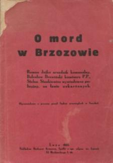 O mord w Brzozowie