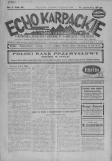 Echo Karpackie : tygodnik ilustrowany. 1928, R. 3, nr 1-10, 61-64
