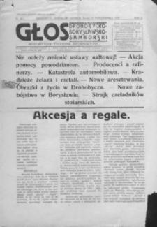 Głos Drohobycko-Borysławsko-Samborski : bezpartyjny tygodnik informacyjny. 1927, R. 2, nr 43-45, 47-52