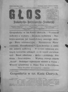 Głos Drohobycko-Borysławsko-Samborski : bezpartyjny tygodnik informacyjny. 1928, R. 3, nr 1-4, 6-15, 17-20, 22-32, 34-48