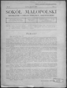 Sokół Małopolski : organ Dzielnicy Małopolskiej. 1939, R. 9, nr 1-9
