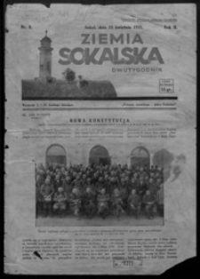 Ziemia Sokalska. 1935, R. 2, nr 8