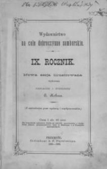 Rocznik Samborski : nowa serja illustrowana : wydawnictwo na cele dobroczynne samborskie. 1885-1886, R. 9