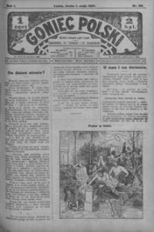 Goniec Polski. 1907, R. 1, nr 88-110 (maj)