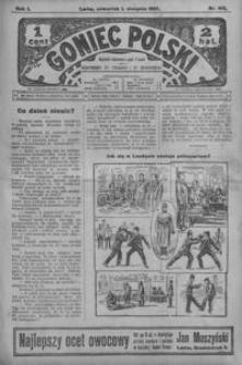 Goniec Polski. 1907, R. 1, nr 162-187 (sierpień)